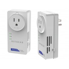 70 Powerline AV Ethernet adapters 500 Mbps bundle with 1 LAN 10/100/1000 Mbps port, pass-through outlet (2 x XAV5601)