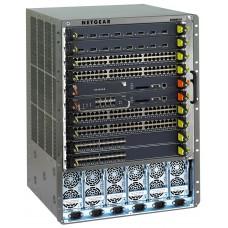 Стартовый набор XCM8810, включет шасси XCM8810, управляющий модуль XCM88S1 с модулем расширения XCM888F, два модуля XCM8848T и два блока питания XCM88PS1