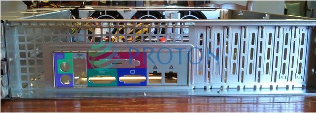 Задняя панель корпуса RM23508M2-LE, аналога 825TQ-R700LPV / 825TQ-R700LPB