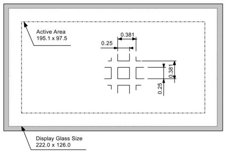 Защищенный дисплей Planar EL512.256 H3-ET FRB