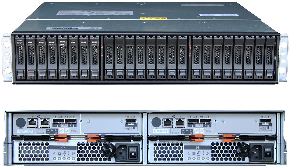 Дисковый массив IBM System Storage DS3524 Rack Mount