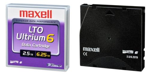 Кассеты Maxell LTO-6
